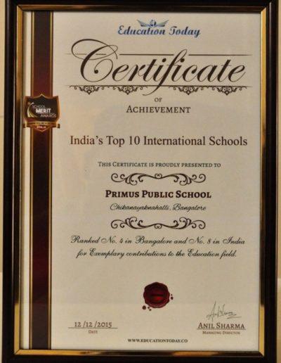 India's Top 10 International Schools