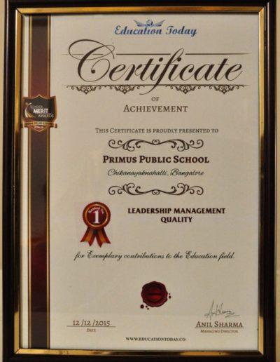Leadership Management Quality